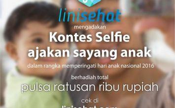 Kontes Selfie Ajakan Sayang Anak