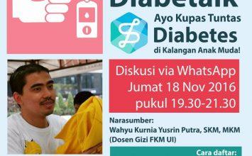 Yuk, Rayakan Hari Diabetes Sedunia dengan Ini!