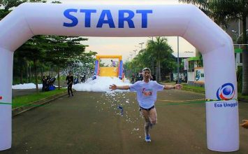 Inilah Foam Running, Acara Running Anti Mainstream