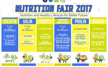 """Yuk, Bergaya Hidup Sehat bersama """"Nutrition Fair 2017""""!"""