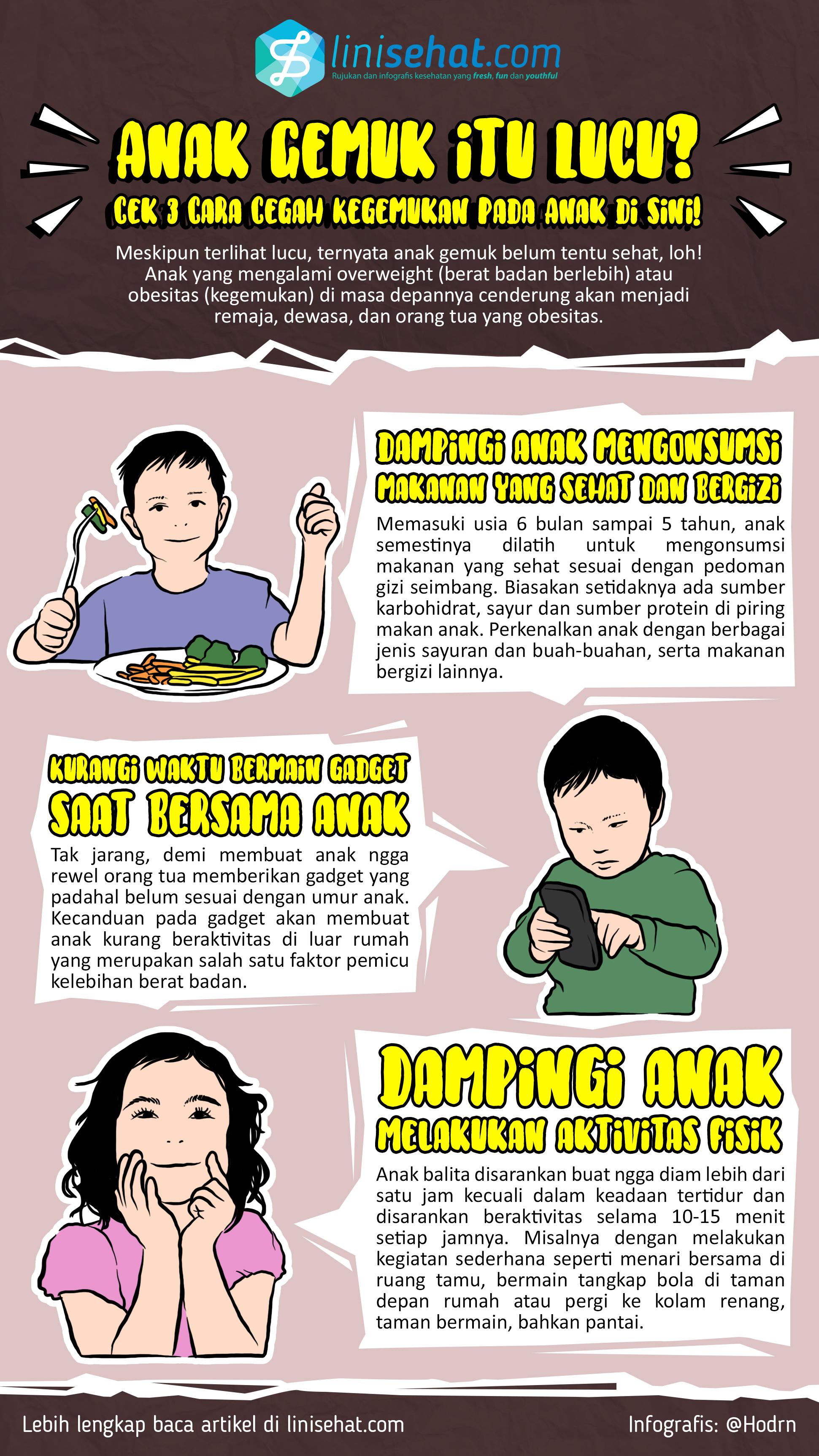 Waspada! Gadget Picu Obesitas pada Anak