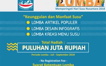 Pemenang Lomba HARI SUSU NUSANTARA 2018