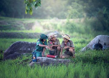4 Manfaat Berkemah untuk Si Kecil