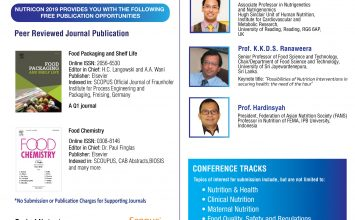 The 3rd International Conference On Food, Nutrition, Health And Lifestyle