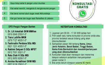 Resmi, Provinsi Banten Mendukung Kegiatan LEKKA BERGIZI BUGAR