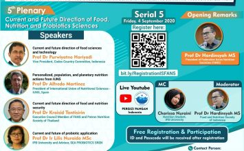 2nd ISFAN Webinar Series – Serial 5, Friday 4 September 2020