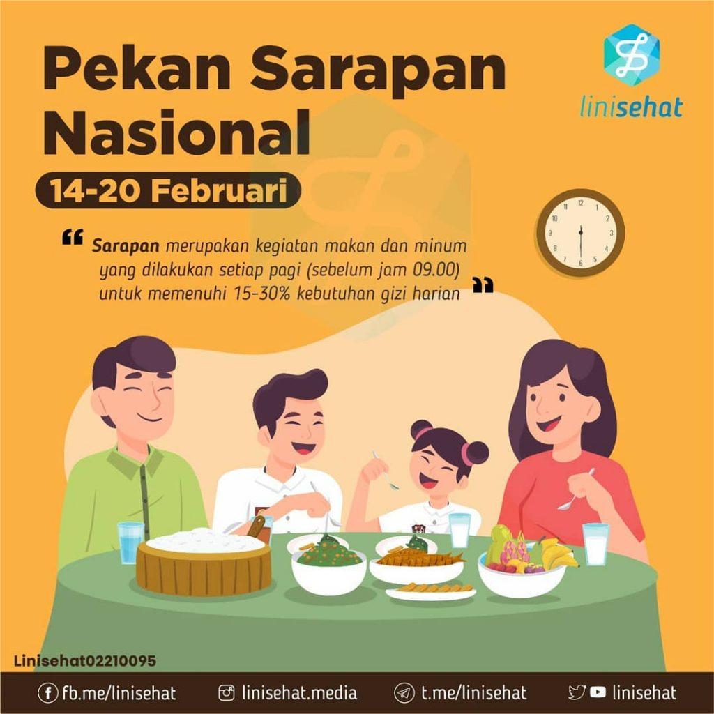 pekan sarapan nasional 2021