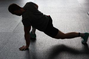 plahraga saat isolasi mandiri
